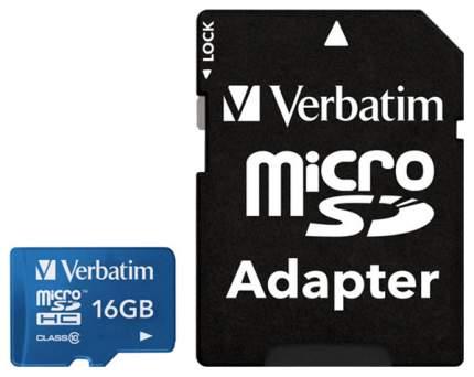 Карта памяти Verbatim Micro SDHC 44043 16GB