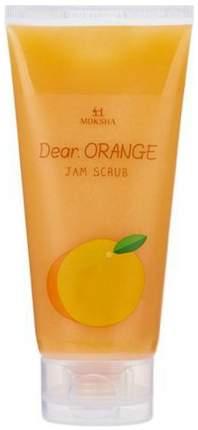 Скраб для лица Gain Cosmetics Moksha Dear Orange Scrub 150 мл