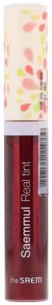 Тинт для губ The Saem Saemmul Real Tint 01 Red 9,6 мл
