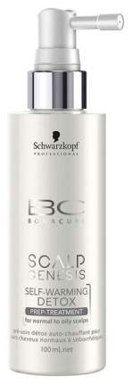 Тоник для волос Schwarzkopf Professional BC Scalp Genesis Self-Warming Detox Tonic 100 мл