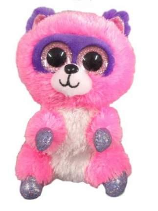 Мягкая игрушка ABtoys Енотик розовый 15 см