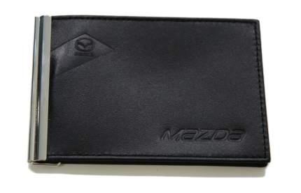 Зажим для банкнот из гладкой кожи Mazda Smoot Leather 830077549 Black