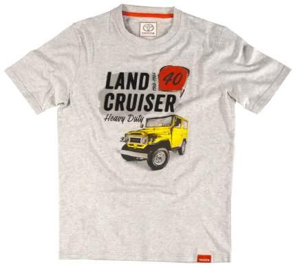 Футболка мужская Toyota Land Cruiser 40 TMHRTTCM04S Grey