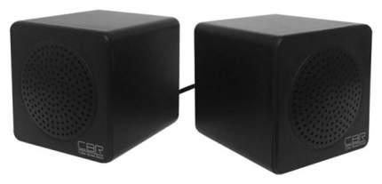 Колонки компьютерные CBR CMS 292 Black 2,0 W*2, USB