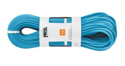 Веревка динамическая Petzl Contact 9,8 мм, голубая, 80 м
