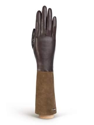 Перчатки женские Eleganzza IS02059 коричневые 6.5