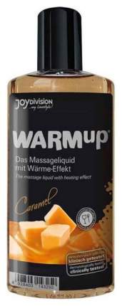 Массажное масло Joy Division Warm Up Caramel разогревающее 150 мл