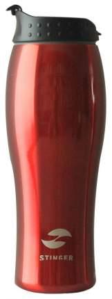 Термокружка STINGER, 0,4 л, красный