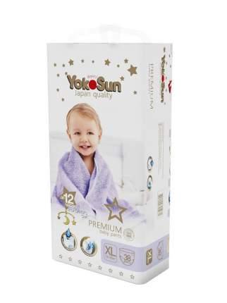 Подгузники-трусики YokoSun Premium XL (12-20 кг) 38 шт
