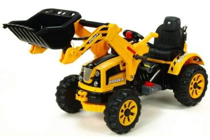 Детский электромобиль трактор на аккумуляторе Jiajia JS328A-Yellow