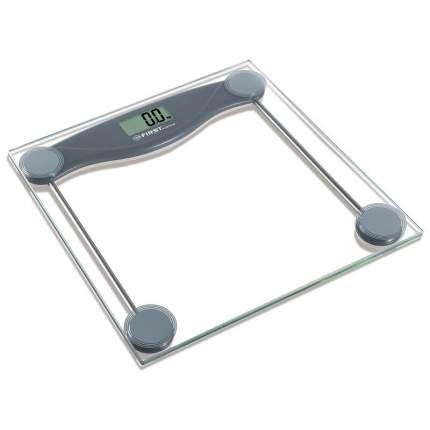 Весы напольные First FA-8013-3-GR Grey Metallic