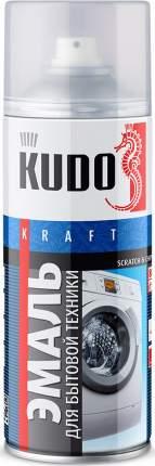 Эмаль KUDO для бытовой техники белая 520 мл