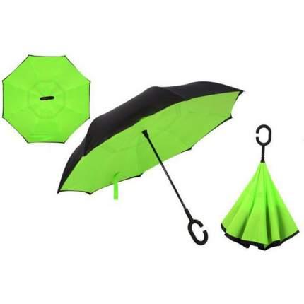 Зонт-трость UpBrella зелёный
