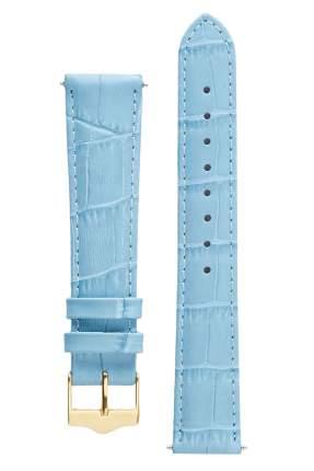 Ремешок для часов из кожи Signature 111601 светло-голубой 16 mm short