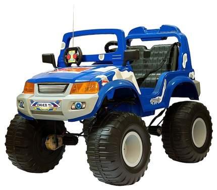 Радиоуправляемый электромобиль полноприводный Chien Ti Off-Roader CT-885R синий камуфляж