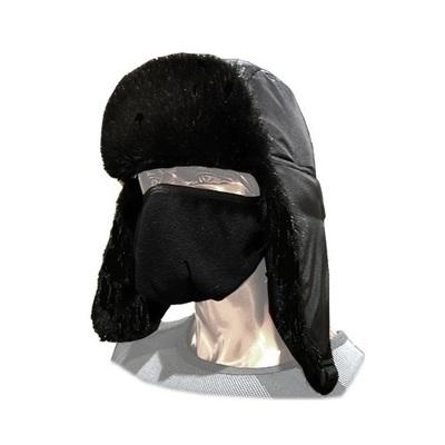 Шапка-ушанка Россия VK201-56-58, черная, One Size