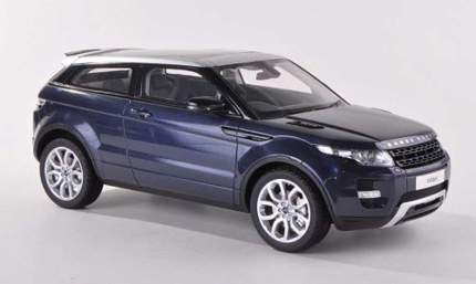 Модель автомобиля Range Rover Evoque LRDCAREBB Scale 1:43 Blue