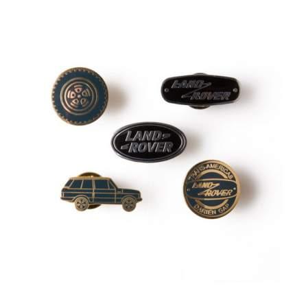 Набор значков Land Rover Heritage Darien Gap Pin Badges, артикул LDGF614NVA