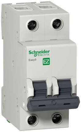 """Автоматический выключатель 2P 63А Schneider Electric """"Easy 9"""", арт. EZ9F34263"""