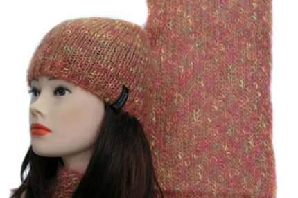 Шарф женский Enrico Coveri ART-1067 COL-0990 розовый