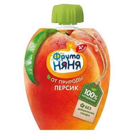 Пюре ФрутоНяня персиковое натуральное 90 г