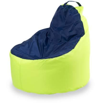 Кресло-мешок ПуффБери Комфорт Оксфорд, размер XL, оксфорд, лайм; синий