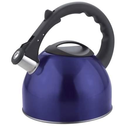 Чайник для плиты MALLONY MAL-042-B со свистком,синий