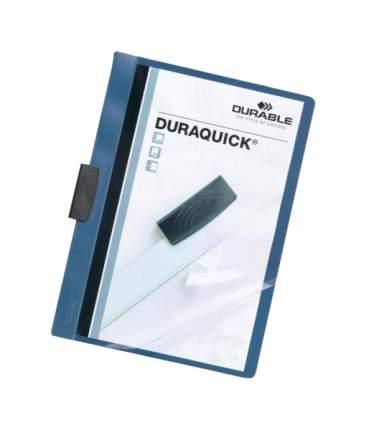 Папка с прижимным механизмом DURABLE DURAQUICK 227006 Голубой А4