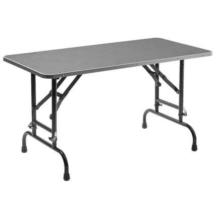 Стол для груминга ZooOne Профи, складной, регулируемый по высоте, 120x60x90 см