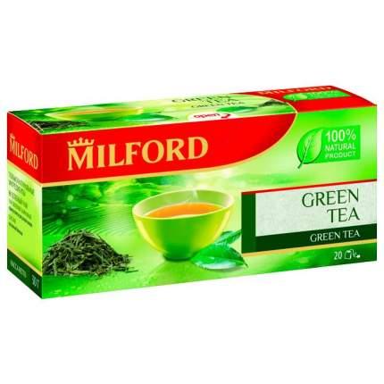 Чай зеленый Milford 20 пак