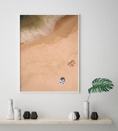 Постер Пляж 40х50 в тубусе