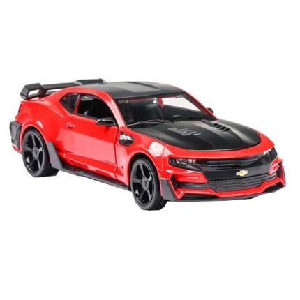 Инерционная машинка Cars спортивное купе Chevrolet Camaro карсный