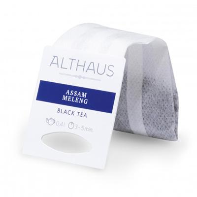 Чай черный в пакетах для чайника Althaus ассам меленг 20*4 г
