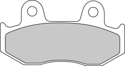 Тормозные колодки задние Ferodo FDB2086P для мотоциклов
