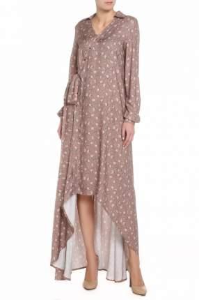 Платье женское Adzhedo 41434 коричневое 3XL