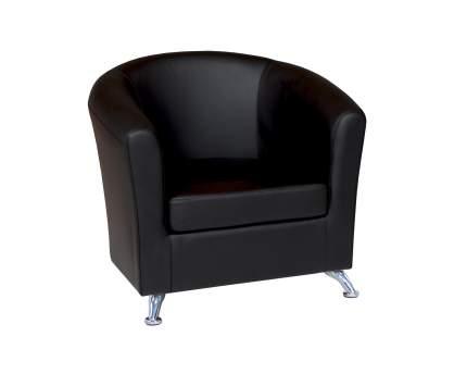 Кресло Евро экокожа черный