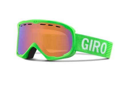 Горнолыжная маска Giro Focus 2016/2017 светло-зеленая/оранжевая One Size