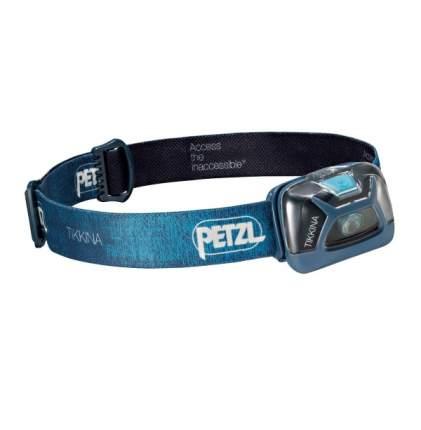 Туристический фонарь Petzl Tikkina E91ABC синий, 3 режима