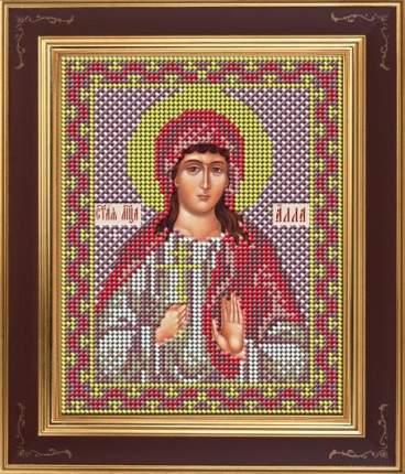 Вышивка бисером Galla Collection М267 Св.мученица Алла 12х15 см
