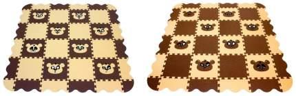Мягкий коврик-пазл Eco Cover Панда 36 деталей