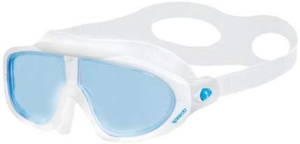 Очки-полумаска для плавания Speedo Rift 8-70329 белые/голубые (7239)