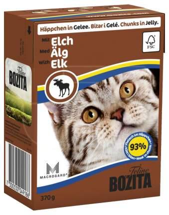 Влажный корм для кошек Bozita кусочки в желе с мясом лося 370 г