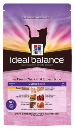 Сухой корм для кошек Hill's Ideal Balance, беззерновой, курица, картофель, 1,5кг