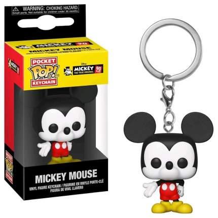 Брелок Mickey: The True Original (90 Years) - Pocket POP! - Mickey Mouse (9,5 см)