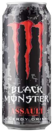 Напиток Black Monster энергетический assault 0.5 л