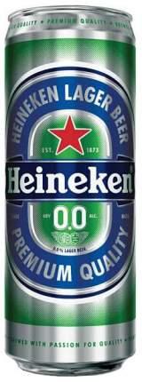 Пивной напиток  безалкогольный Heineken пастеризованный 0.45 л