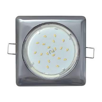 Светильник Встраиваемый Ecola Gx53-H4 Квадрат Fb53S4Ecb
