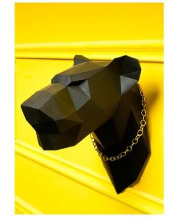 Набор для сборки полигональных фигур: Пантера черная