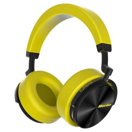 Беспроводные наушники Bluedio T5 Yellow