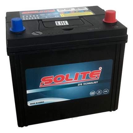Аккумулятор автомобильный Solite  EFBQ85 START-STOP 70A/ч 730А полярность обртная